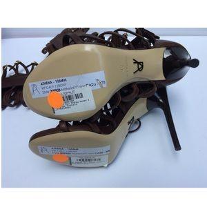 Paul Andrew Shoes - Paul Andrew Athena Gladiator Heel Leather Sandal